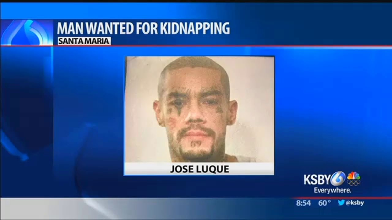 Police Man wanted for kidnapping child endangerment in Santa