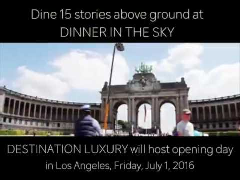 Dinner In The Sky Los Angeles YouTube - Dinner in the sky an unforgettable experience