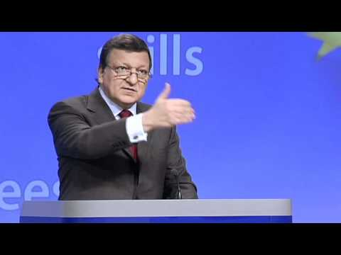Barroso calls on EU countries to create youth jobs