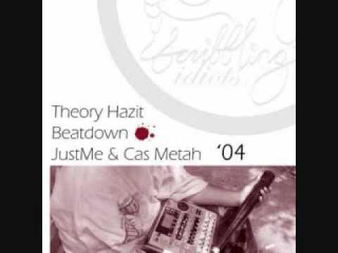 JustMe & Cas Metah - For Christ's Sake Theory Hazit Beatdown RMX
