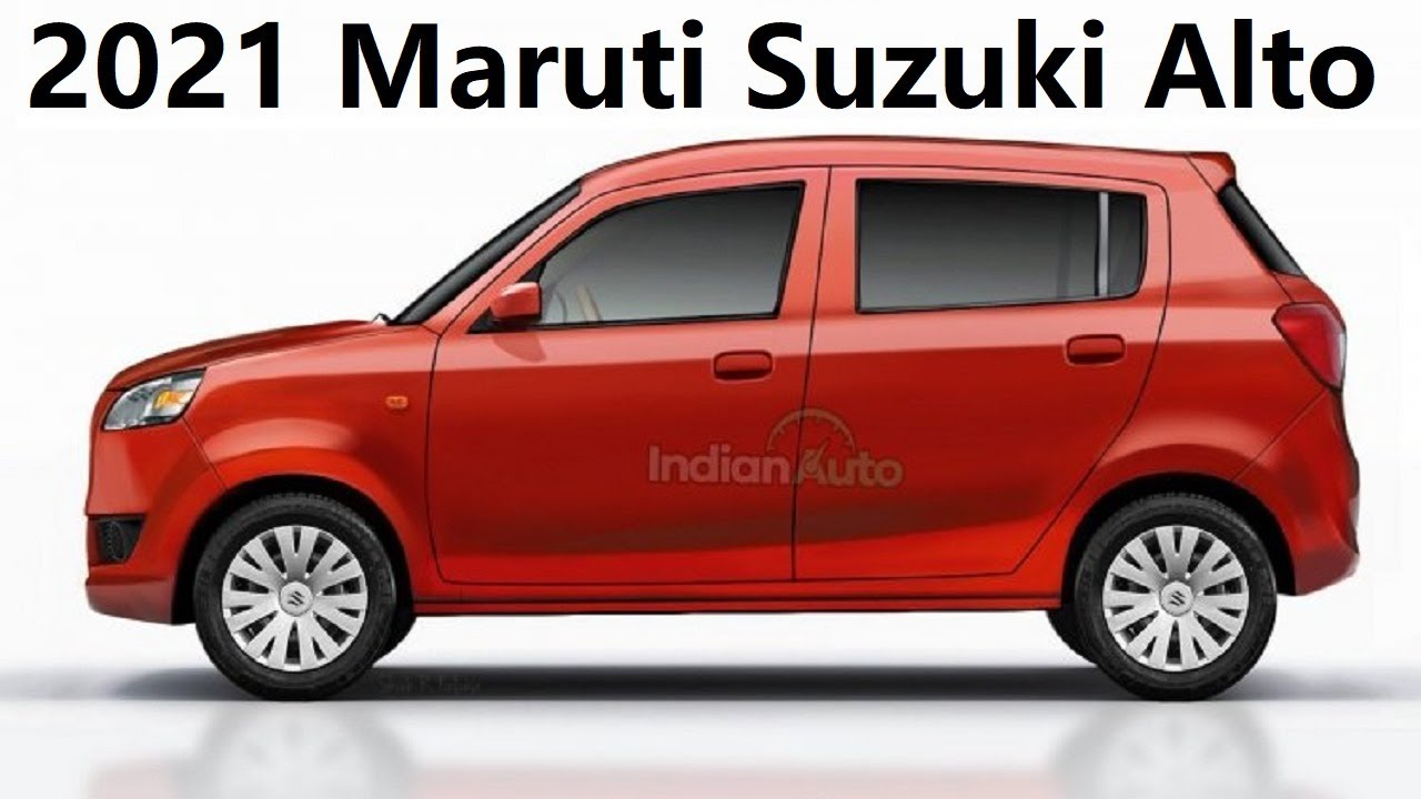 2021 Maruti Suzuki Alto New Render Images All New Details Engine Features Price Launch Date Youtube