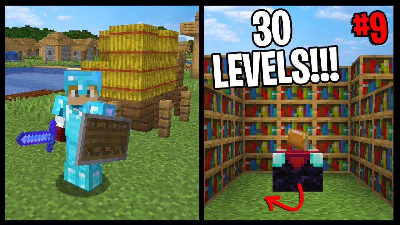 FINALLY!! LEVEL 30 ENCHANTS!! | Minecraft Village ...