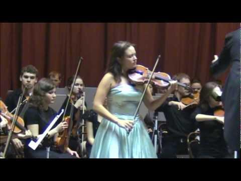 Max Bruch. Violin Concerto No. 1 in G minor, Op. 26 Adagio