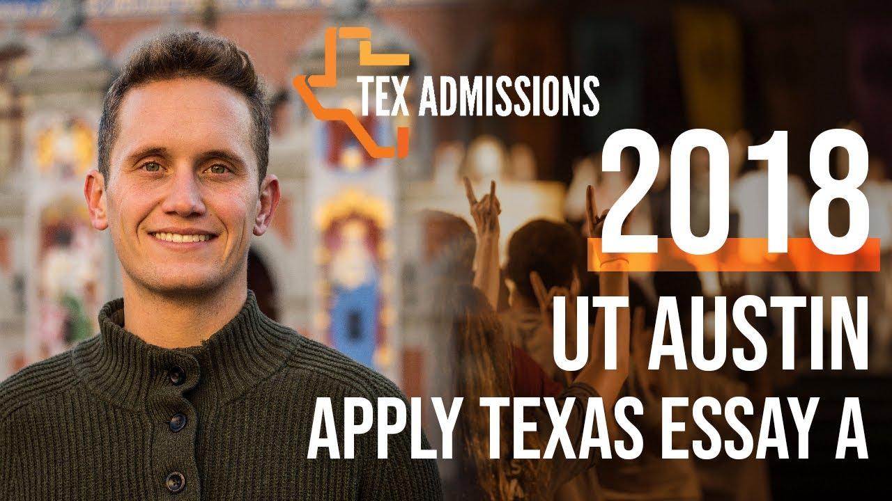 essay a apply texas
