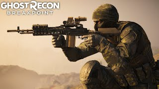 DANGEROUS BLOOD WOLVES AGAINST THE MK14 ASSAULT in Ghost Recon Breakpoint Titan Free Roam