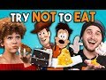 Try Not To Eat Challenge - Disney Food #3 | People Vs. Food