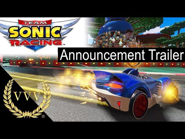 Team Sonic Racing - Announcement Trailer
