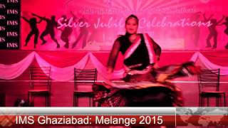 Melange 2015 - An Inter Institute Annual Cultural Festival at IMS Ghaziabad - Inaugural Dance Part 1