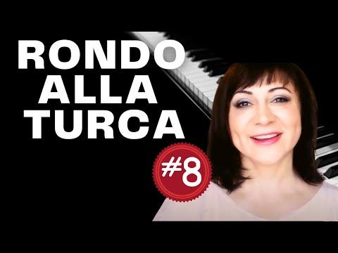 Rondo Alla Turca (Turkish March) Piano Tutorial - Part 8