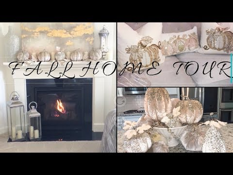 FALL GLAM HOME DECOR TOUR 2018