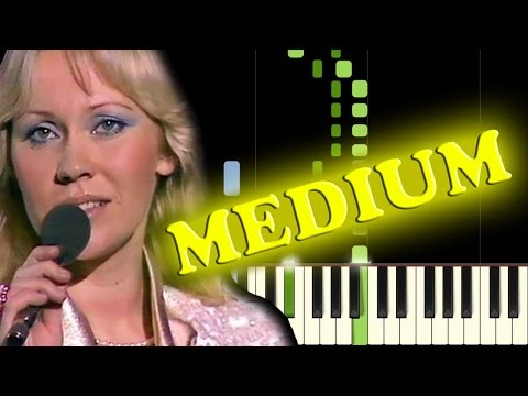 ABBA - THANK YOU FOR THE MUSIC - Piano...
