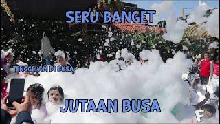 Seruuu!!! Mandi Busa Terbanyak Di Bandung Panghegar Water Boom Video