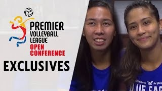 DROPBALL: Ateneo's Kim Gequillana and Ponggay Gaston