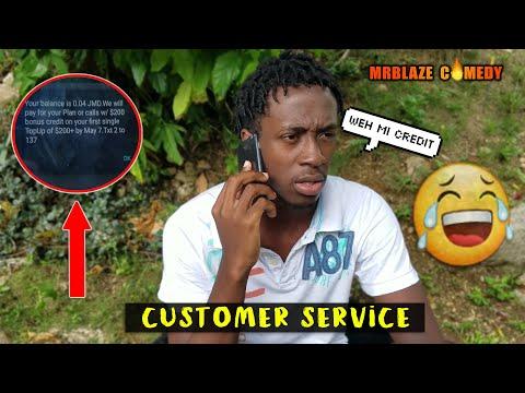 Customer Service [ Mrblaze Comedy ]