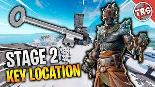 HOW TO UNLOCK STAGE 2 OF PRISONER SKIN | STAGE 2 KEY LOCATION | Fortnite: Battle Royale