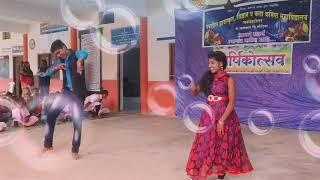 San sananan say say cg song dance Shital Kotangal and Umendra Shahare