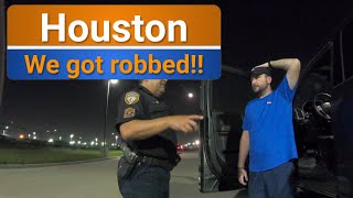 Houston hates us! F250 broken into & our stuff was gone at Houston Rodeo