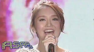 Kathryn Bernardo sings