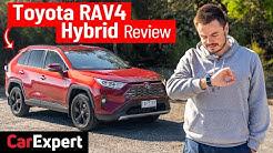 1000km+ (620mi+) per tank! 2020 Toyota RAV4 Cruiser Hybrid expert detailed review, 0-100 4K