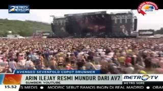 Berita Terbaru   Arin Ilejay Drummer Avenged Sevenfold Resmi Keluar dari Band   24 Juli 2015