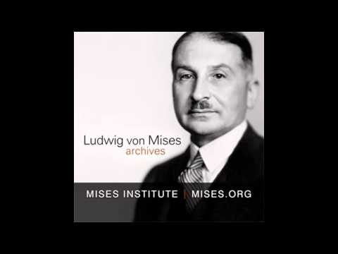 The Problems of Inflation | by Ludwig von Mises (recorded 1968)