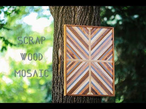 Scrap Wood Mosaic