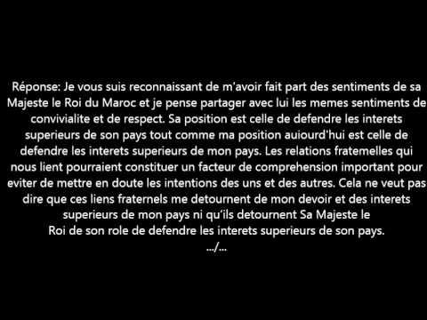 Interview du Président Abdelaziz Bouteflika (RMC) 19 juin 1999. 1ère partie.