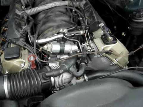 2001 Bmw X5 Fuel Filter E38 740i Intake Re Seal Youtube