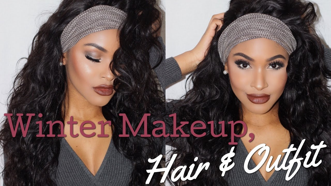 Winter slay beat flawless makeup tutorial hair outfit ali moda beat flawless makeup tutorial hair outfit ali moda hair x beautybycarla youtube baditri Images