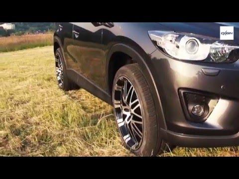 Oxigin Wheels on MAZDA CX5- OX14 Oxrock - YouTube