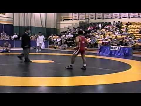 2002 World University Championships: 55 kg GR Final Hassan Rangraz (IRI) vs. Eun-Chul Park (KOR)
