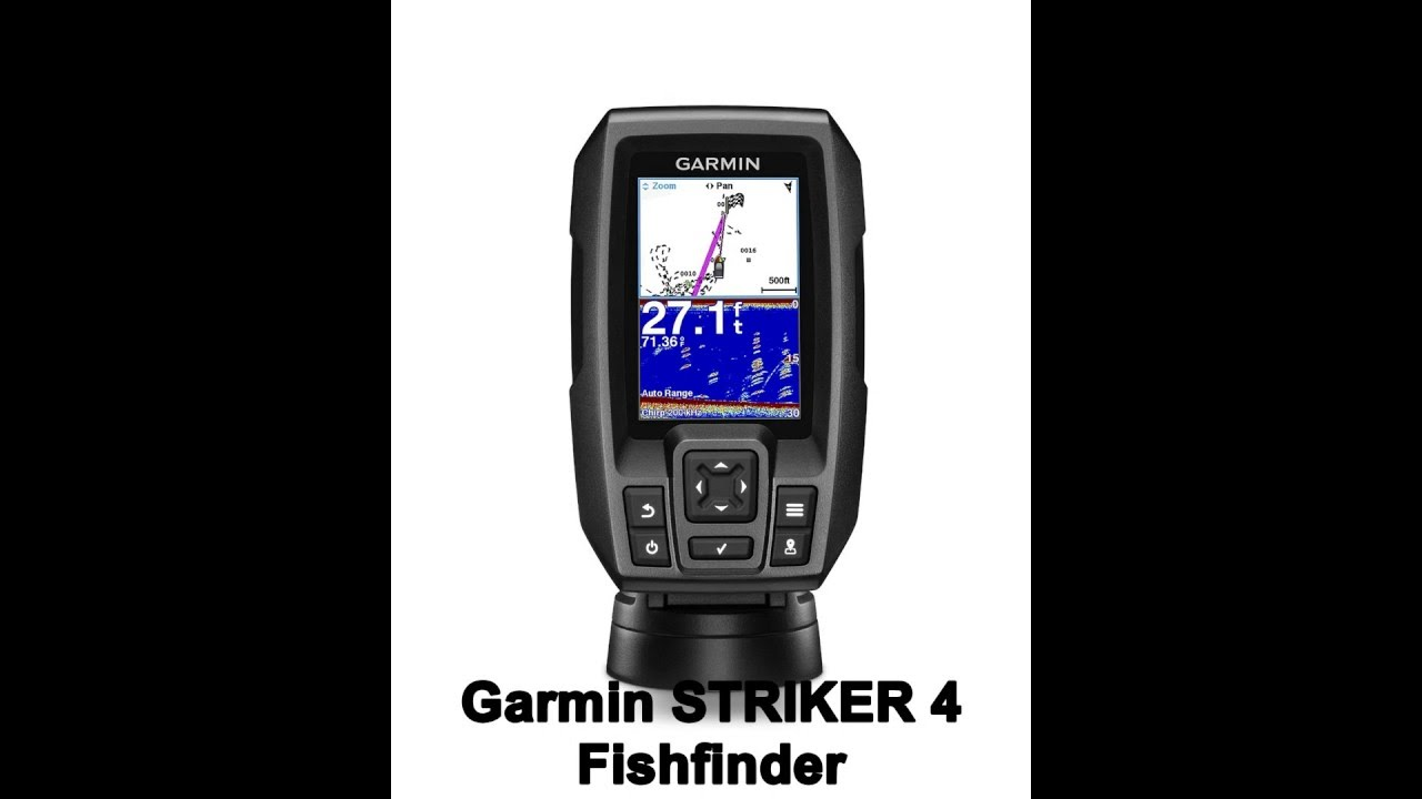 Quick look garmin striker 4 fishfinder ice fishing for Garmin striker 4 ice fishing
