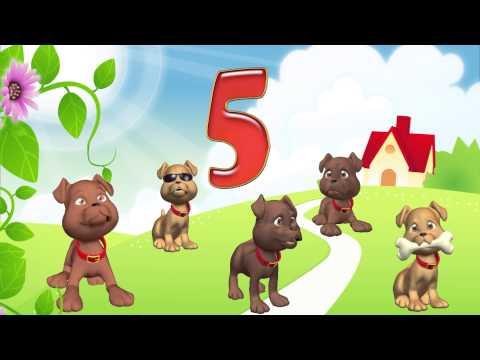 Считаем до 10 - учим цифры. Стихи о животных - развивающий мультфильм. Наше всё!