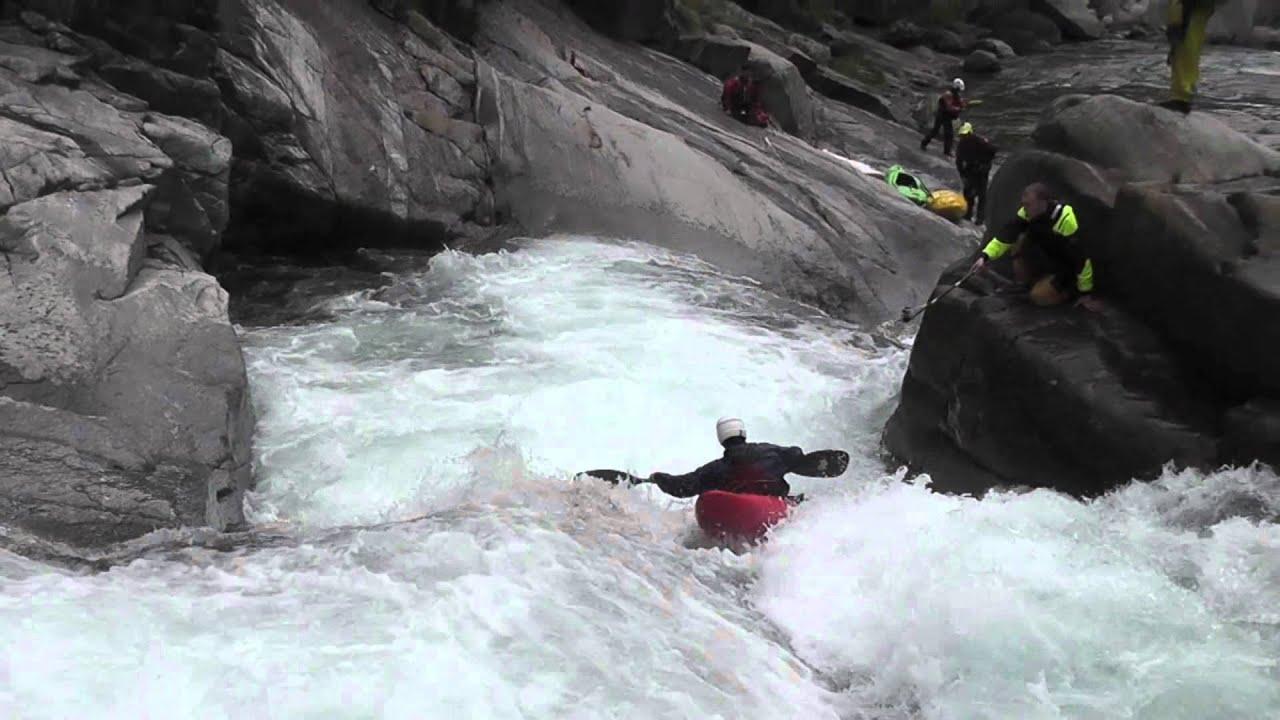 EXTREME KAYAK RIVER CHIUSELLA ITALY SPRING 2011