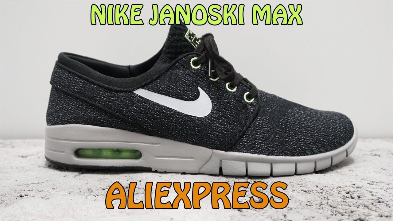 raqueta montar Monetario  Nike Janoski Max | Aliexpress | FootSkillZ - YouTube