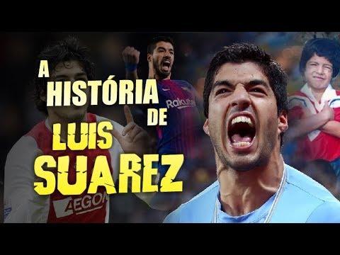 Conheça a grande HISTÓRIA do craque LUIS SUÁREZ