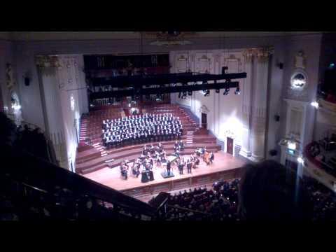 Handel Messiah at Usher Hall - Amen