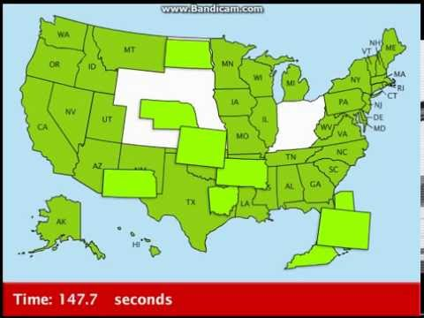 Educational Games! Map Snap: 50 States