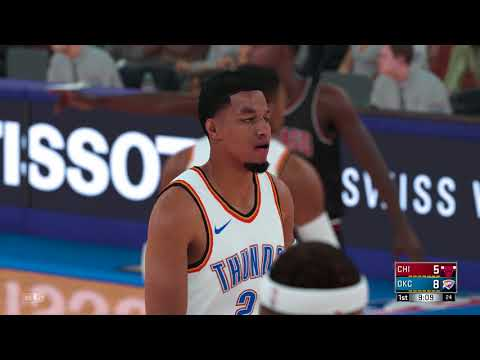 NBA 2K18 Chicago Bulls vs Oklahoma City Thunder