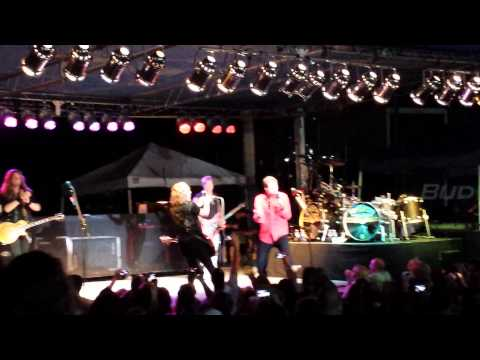 Night Ranger, at Bands in the Sands,7/20/13.