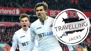 Swans TV - Travelling Jacks: Anfield Triumph