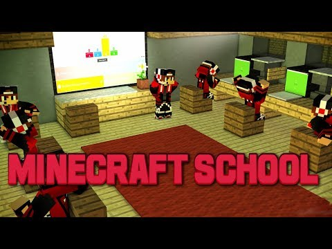 LIVE MINECRAFT SCHOOL ROAD TO K Ip Playtitanrebornnet - Minecraft school spielen