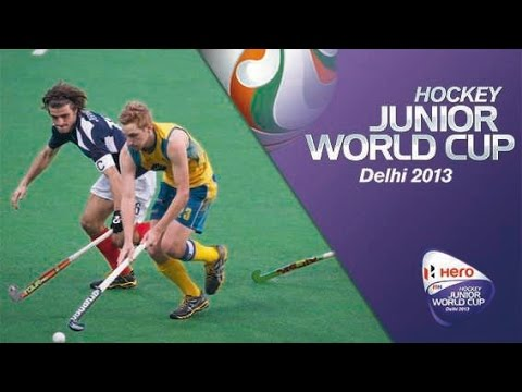 Australia vs France - Men's Hero Hockey Junior World Cup India [09/12/2013]