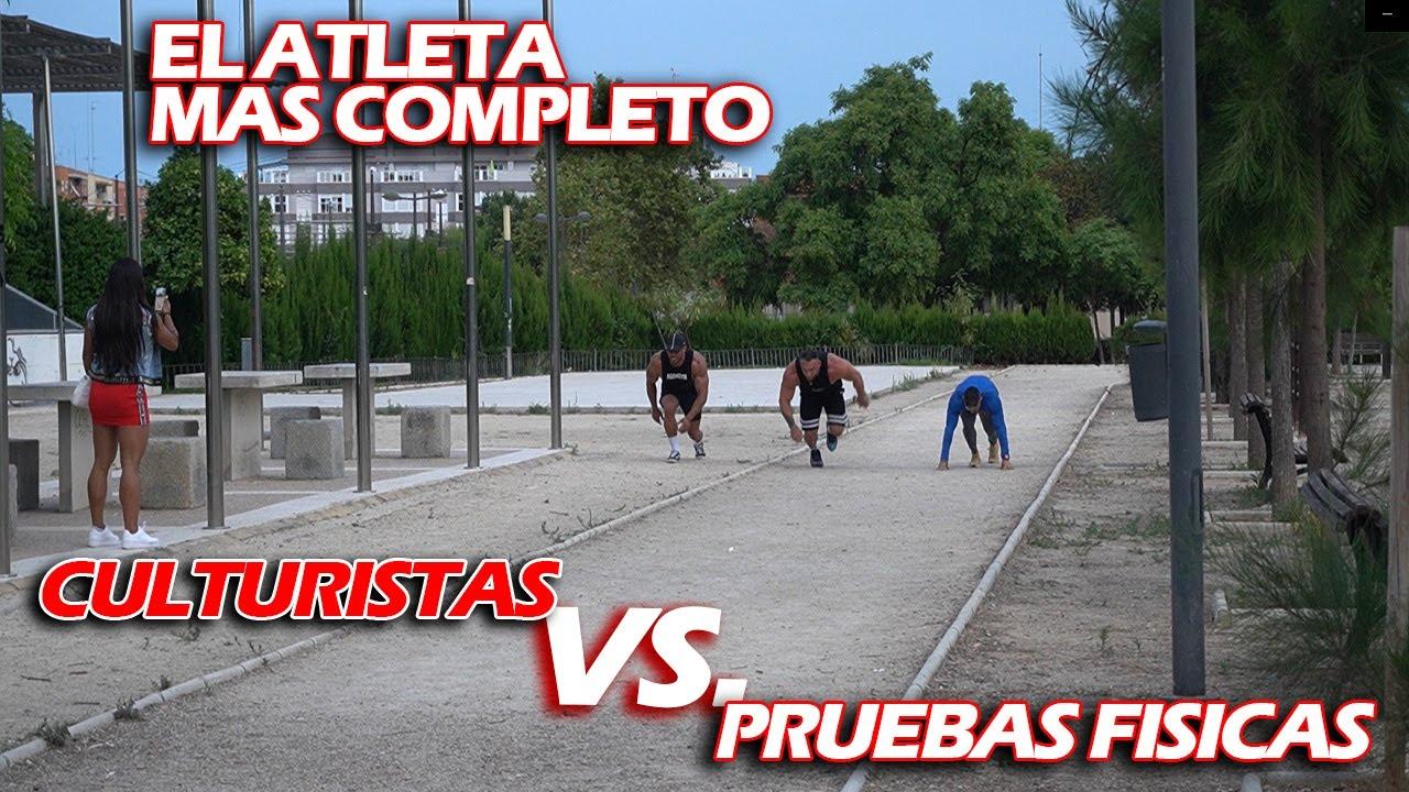 CULTURISTA IFBB PRO VS PRUEBAS FISICAS | EL ATLETA MAS COMPLETO