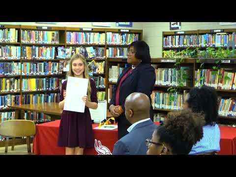 Warren Central Junior High School National BETA Club Induction Ceremony