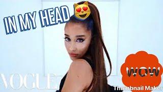 Ariana Grande - In My Head (Music Video) Reaction | VOGUE
