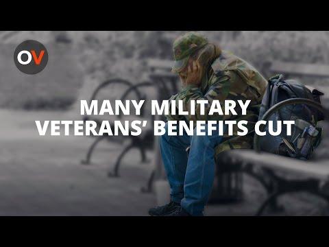 Veterans Cut From Unemployment Pay
