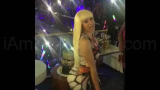 Cardi B Twerking To Vybz Kartel FEVER WorlGovt Sep 2017