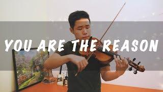 Video Calum Scott - You Are The Reason (Violin Instrumental) download MP3, 3GP, MP4, WEBM, AVI, FLV September 2018