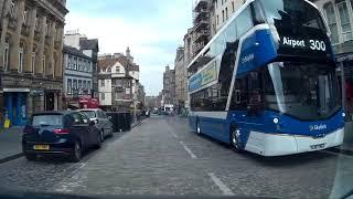 40 Minute Spring Drive Around The City Of Edinburgh Scotland
